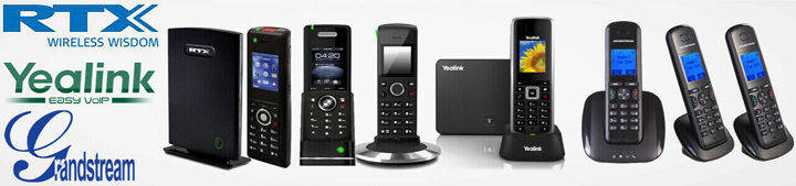 IP DeCT Phones - Cordless