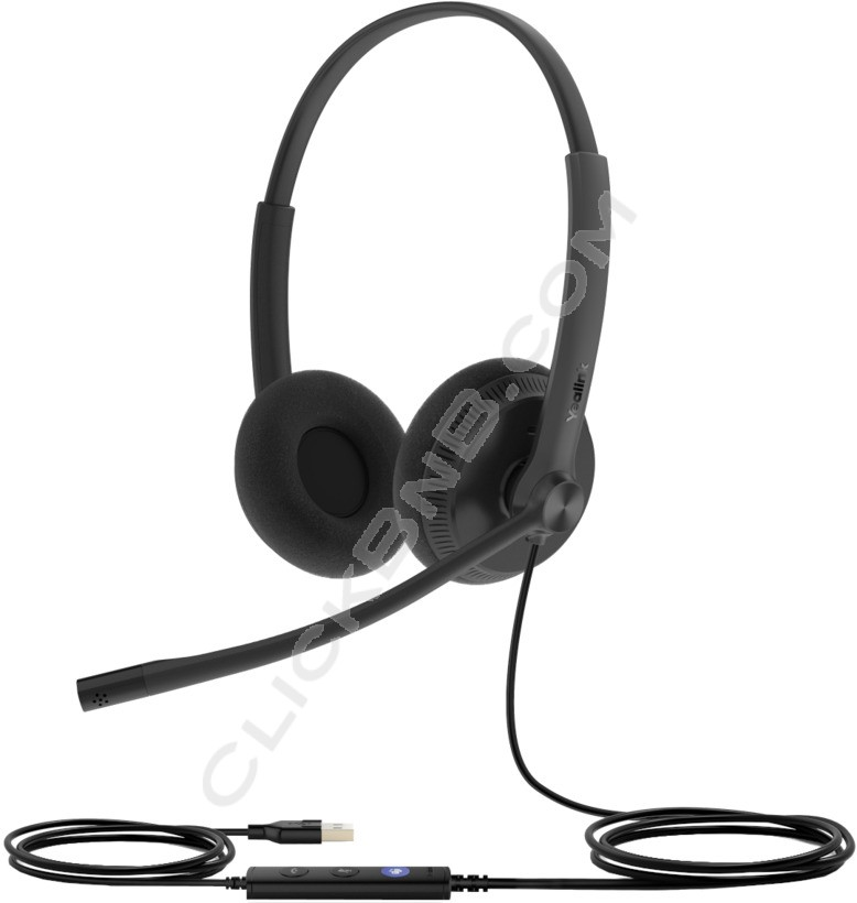 Yealink UH34 Dual - USB Wired Headset (USB-A)