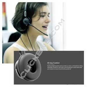 Fanvil HT201 Call Center Headset for PC (Dual 3.5mm)