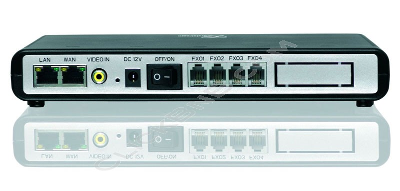 Grandstream - GXW4104 - 4FXO VoIP Analog Gateway