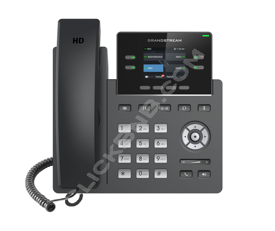 Grandstream - GRP2612 - 2 Line Carrier - Grade  IP Phone [non PoE]