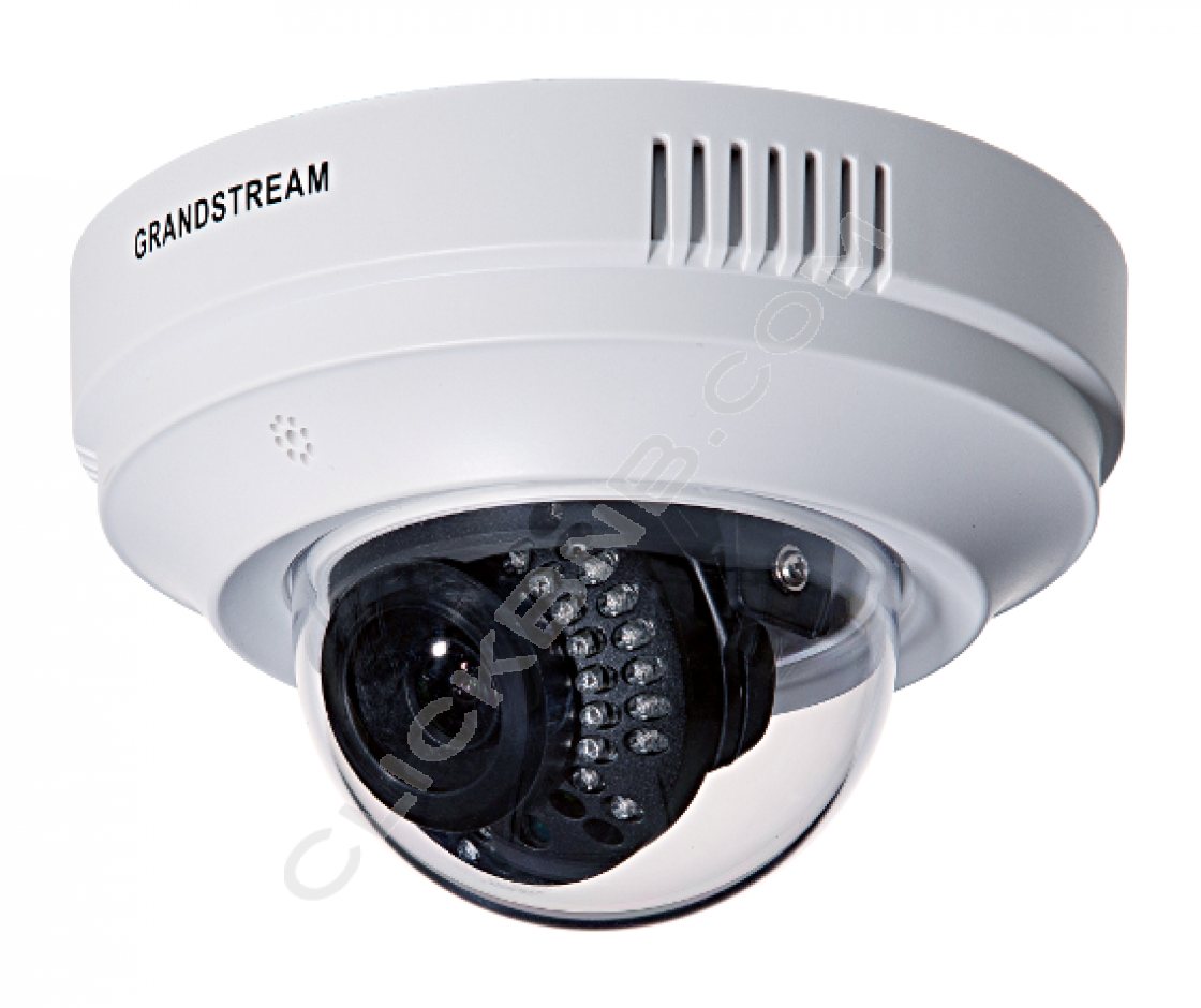 Grandstream GXV3611IR_HD - Indoor Infrared Fixed Dome - HD IP Camera