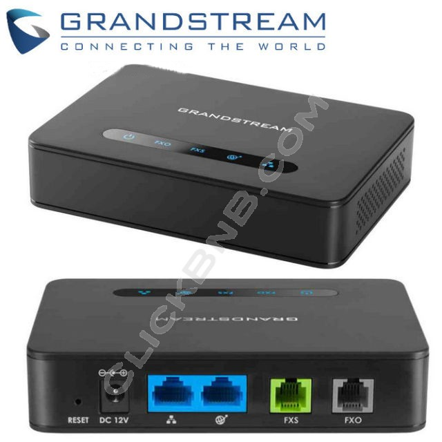 Grandstream HT813 - Combo 1FXO and 1FXS ATA with Dual Gigabit NAT Router