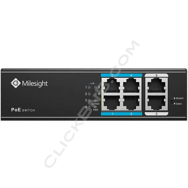Milesight MS-S0204-EL 4 Port PoE Switch