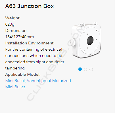 Milesight A63 Junction Box