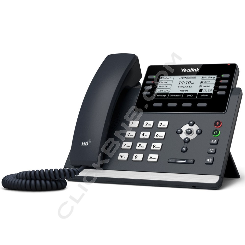 Yealink – SIP-T43U Well-Rounded IP Phone
