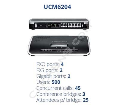 Grandstream - UCM6204 IP PBX Series