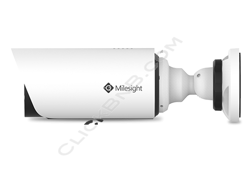 Milesight MS-C5364-FPB - 5MP H.265 Vandal-Proof Motorized Mini Bullet Network IP Camera