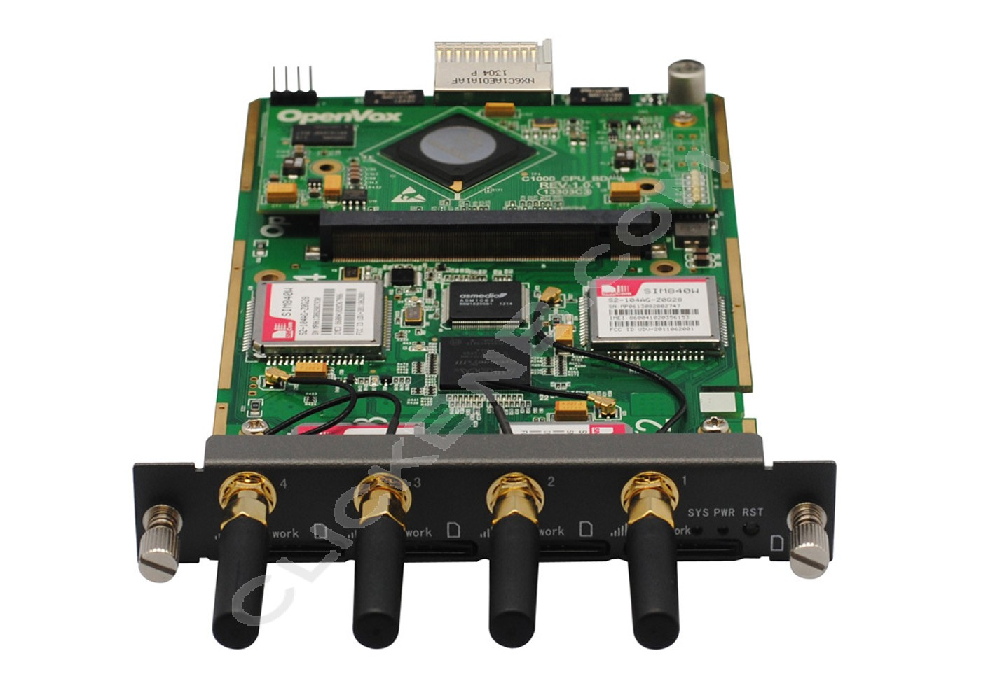 OpenVox VS-GWM400G VoxStack GSM Gateway Module - 4 GSM Channel