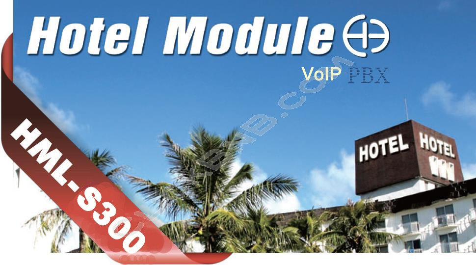 Yeastar - Addons Hotel Module for S300 VoIP PBX
