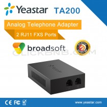 Yeastar - NeoGate TA200 - 2 FXS Analog Telephone Adapter