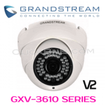 Grandstream GXV3610_FHD - Outdoor Infrared Fixed Dome - FULL HD IP Camera (V2)