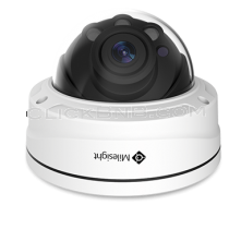 Milesight MS-C2972-RFAPB - 2MP Face Detection H.265+ Motorized Pro Dome Network IP Camera