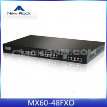 New Rock - MX60-48FXO [48 FXO Analog VoIP Gateway]