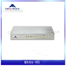 New Rock - MX8A/G-8S - [8 FXS Analog VoIP Gateway]