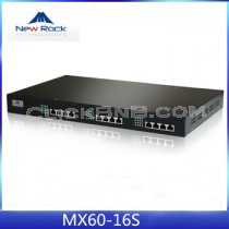 New Rock - MX60-16S [16 FXS Analog VoIP Gateway]