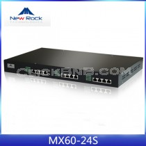 New Rock - MX60-24S [24 FXS Analog VoIP Gateway]