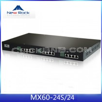 New Rock - MX60-24S/24 [24FXS + 24FXO Analog VoIP Gateway]