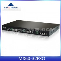 New Rock - MX60-32FXO [32 FXO Analog VoIP Gateway]