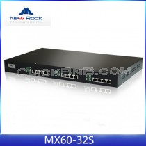New Rock - MX60-32S [32 FXS Analog VoIP Gateway]