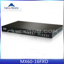 New Rock - MX60-16FXO [16 FXO Analog VoIP Gateway]