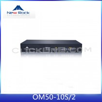 New Rock - OM50-10S/2 (All in One IP PBX, 2 FXO + 10 FXS)