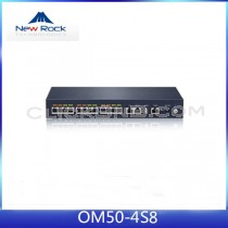 New Rock - OM50-4S/8 (All in One IP PBX, 8 FXO + 4 FXS)