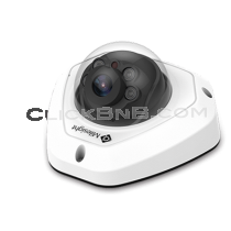Milesight MS-C2973-PB - 2MP H.265+ Vandal Proof Mini Dome Network IP Camera