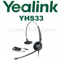 Yealink YHS33 - Call Center Headset for IP Phone