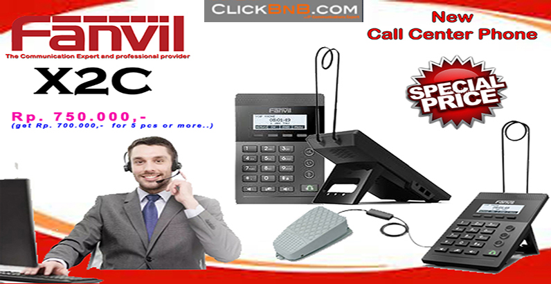 Promo Call Center IP Phone - Fanvil X2C